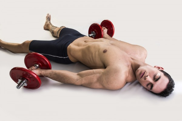 Artofphoto Dreamstime.com Exhausted Young Male Bodybuilder Resting On Floor Photo e1414531130755