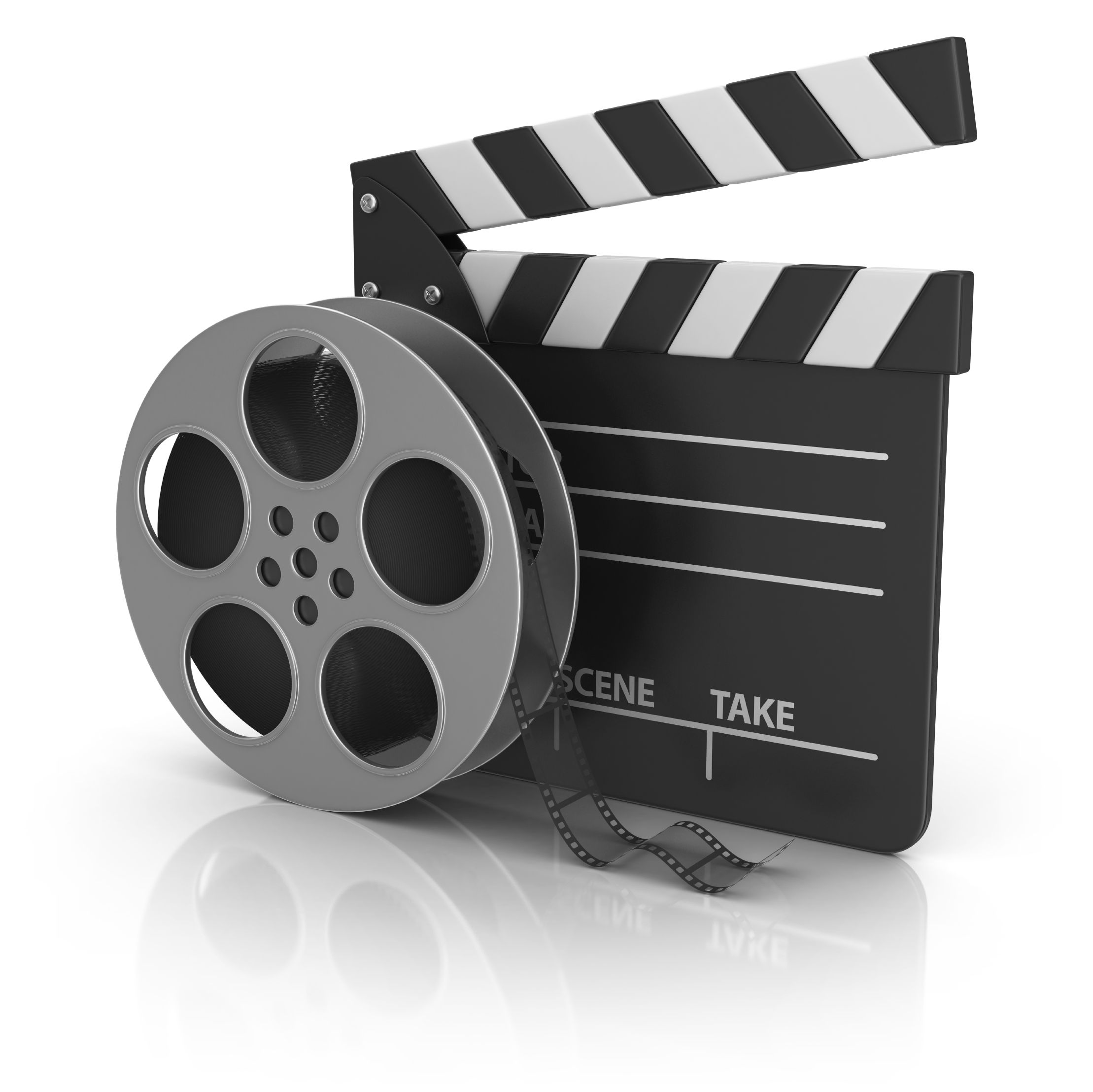 Video Reel and Film Canister